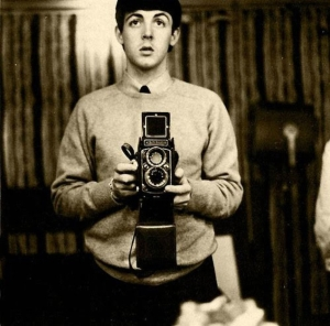 paul mccartney selfie