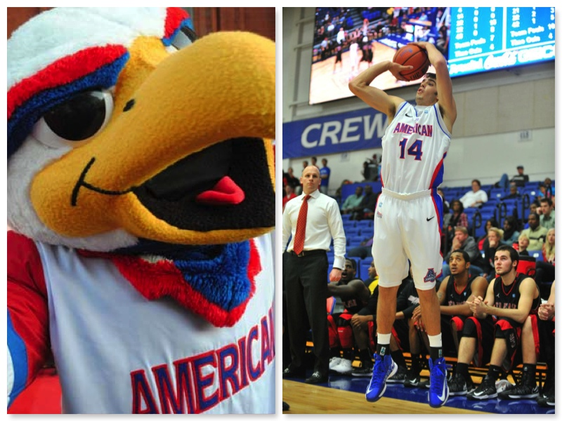American University Eagles, Jesse Reed