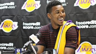 "Nick Young: With his ""Swaggy"" style and contagious smile, Nick Young is pretty attractive. Add the number of instagram videos and pictures of his adorable son and he is irresistible. Rumor has it he is currently dating Iggy Azalea . Fun Fact: they met on twitter when Nick put her up as his #wcw. There is hope for you yet #mcm"