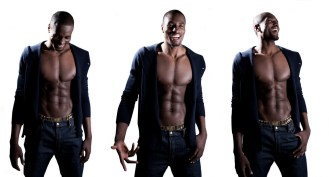 Serge Ibaka: Washboard abs. Engaging Smile. Those Abs. This 24 year old from the Congo plays for the great OKC and is a decorated olympian. With 17 siblings, you know he's a family man.